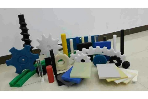 Machining parts in many materials